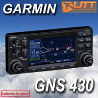 garmin gns 430 3d max