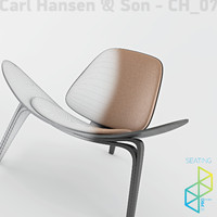 Carl Hansen&Son CH07 Shell chair