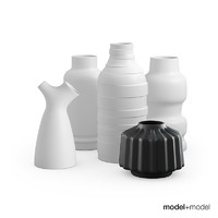 3ds max set vases