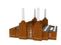 3d battersea power station