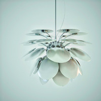discoco pendant light lamp 3d max