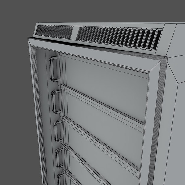 3d server rack - Server rack v3... by lightmuch