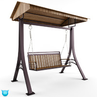 3ds max swing outdoor