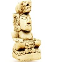 maya mayan figure replica