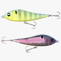 3d model fishing lure