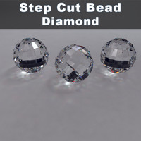 step cut bead diamond materials max