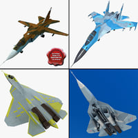 Su Jet Fighters Collection