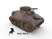 3ds max tank mod b
