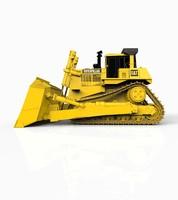 bulldozer dozer 3d dxf