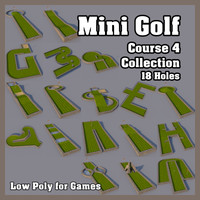 Mini Golf Course 4 Collection