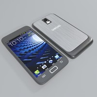 samsung galaxy s ii 3d model