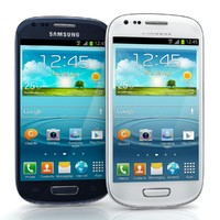 Samsung Galaxy S III Mini Bule And White