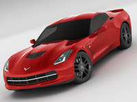 chevrolet corvette stingray 3d model