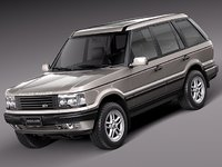 3d model of luxury suv 1994 2002