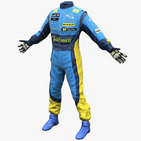 Racing Driver Clothes Renault
