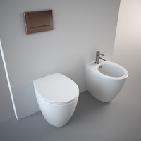 Toilet and Bidet Velis 57
