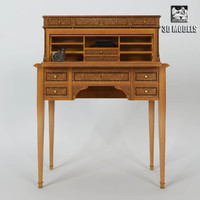provasi writing desk 3d max