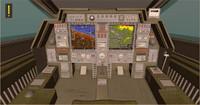 helicopter cockpit 3d obj