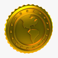 world coin 3d max