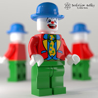 Lego Clown Figure
