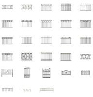 railings ready 3d model