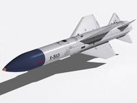 3d kh-58e missile