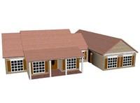 3d model of modern house 2012