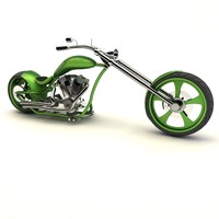 3ds max american chopper