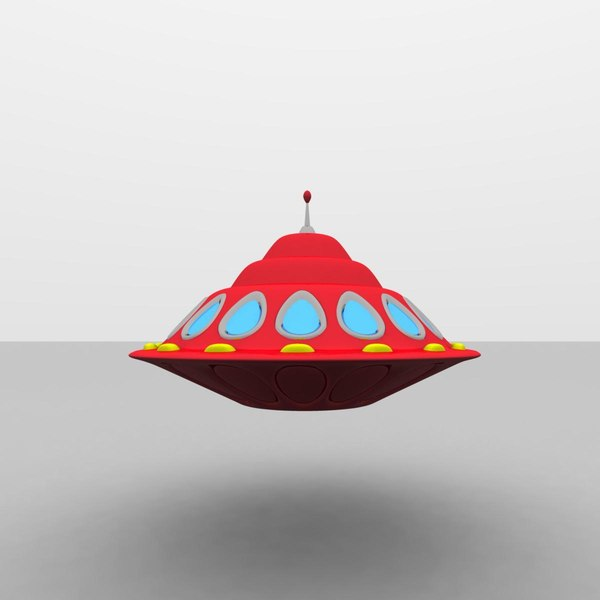 3d flying saucer alien model - Flying Saucer Alien Spaceship IX... by MP Design