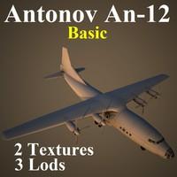 antonov basic 3d max