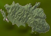 mountain catalonia 3d blend