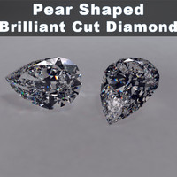 Pear Shaped Diamond Brilliant Cut