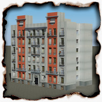 3d building 67 model