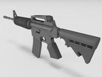maya m4 colt rifle