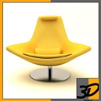 3dsmax metropolitan armchair