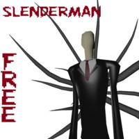 free slender slenderman 3d model