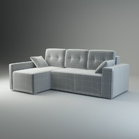 3d model corner sofa fresh basic