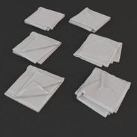 3dsmax towel fold