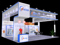 exhibition stall 3d ma