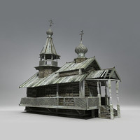 Siberian Wooden Church