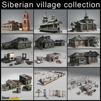 Russian Village Collection