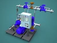3d pump hidro model