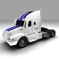 3ds max semi truck