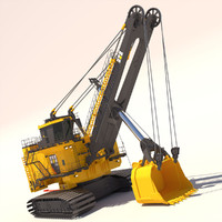 rope shovel 7495hf 3ds