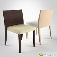 3d glam 431 chair upholstery model