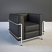 max le corbusier armchair lc2