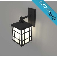 Outdoor Sconce Lamp Light