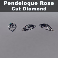 max pendeloque rose cut diamond