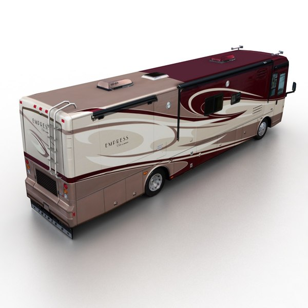 campers 2009 2011 3d model - Low Poly Campers... by TAURUS_X