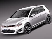 3d model of 2013 2014 sport volkswagen